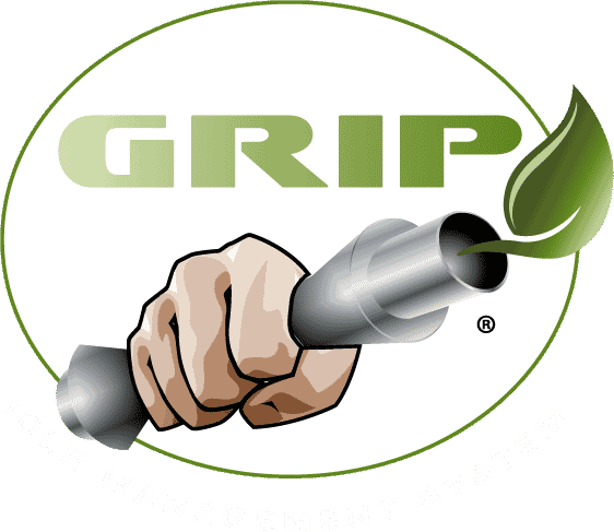 grip logo reversed